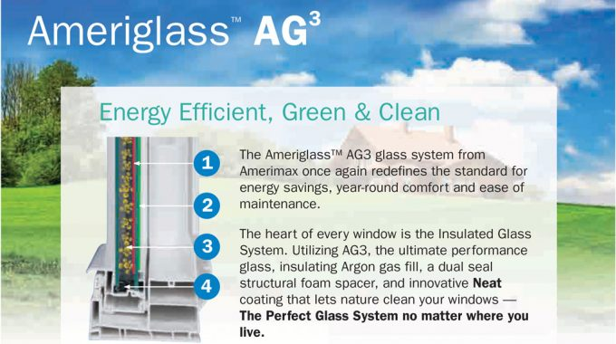 Ameriglass Energy Efficient Glass